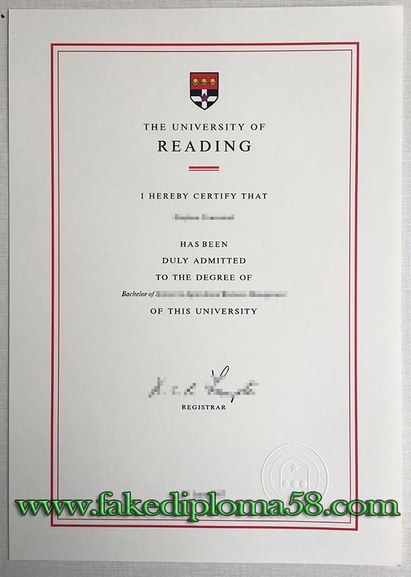 buy University of Reading fake degree in UK