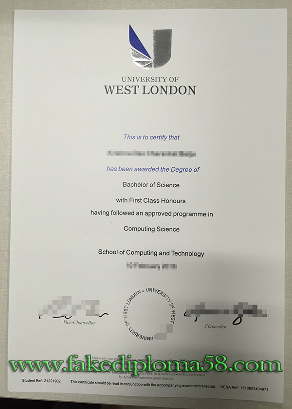 How to get a fake University of West London degree from UK