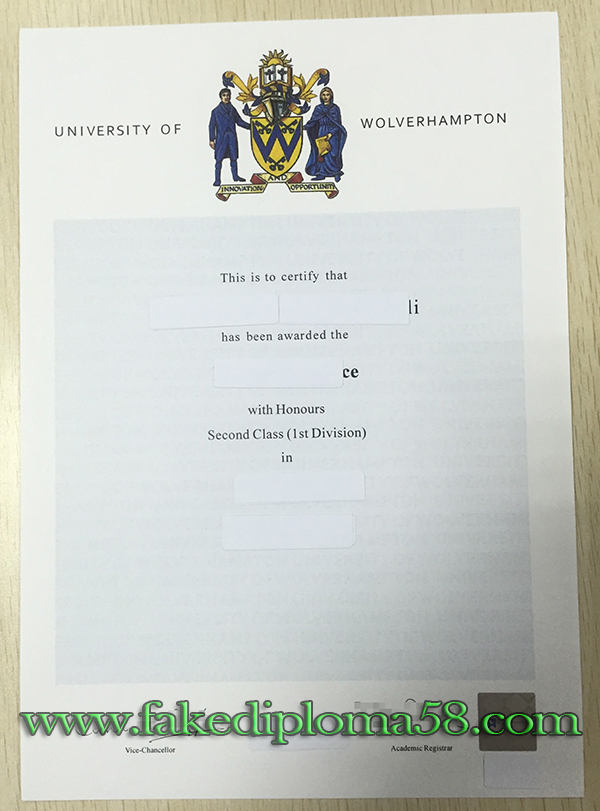 University of Wolverhampton degree from diploma mill