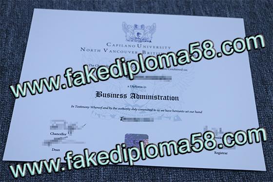 Fake degree, buy Capilano Universit degree
