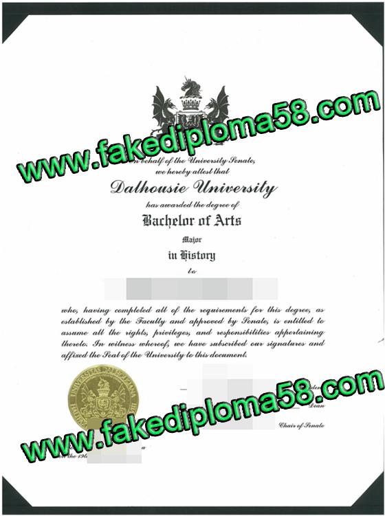 Fake diploma. Where to buy Dalhousie University degree