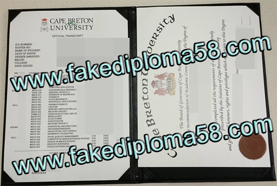 CAPE BRETON UNIVERSITY diploma, buy a fake degree, buy fake transcript