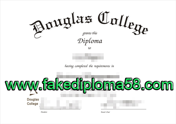 Where to buy fake Douglas College diploma