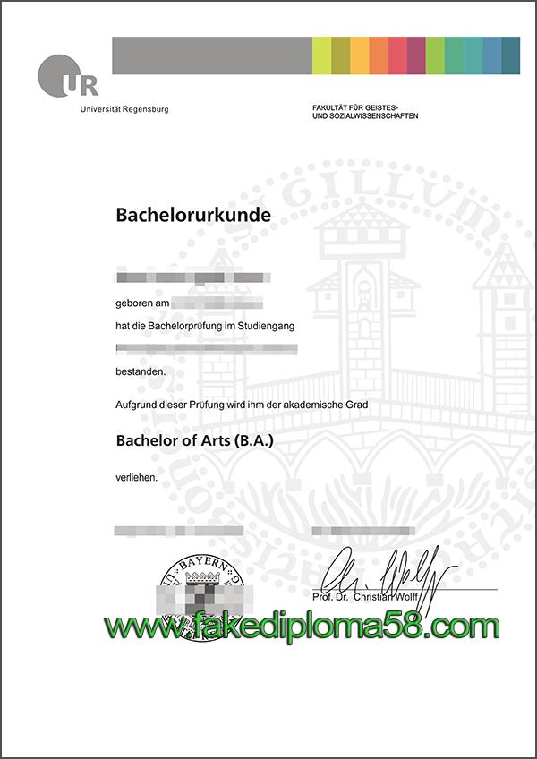 where to buy fake degree from Universität Regensburg?