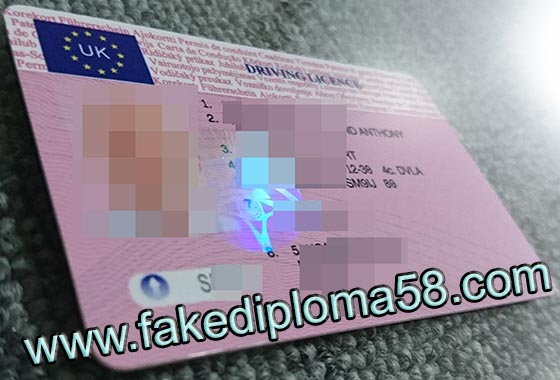 Buy fake UK Driving License, Buy fake Driving License