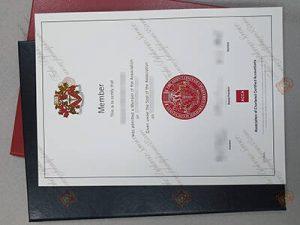 ACCA fake certificate