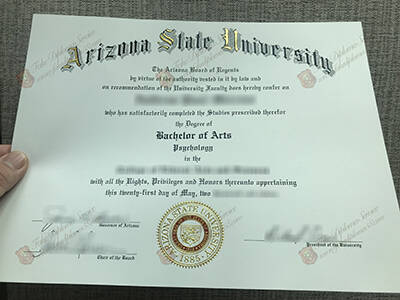 Using Arizona State University fake diploma will change your life
