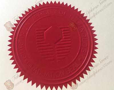 Curtin University diploma seal
