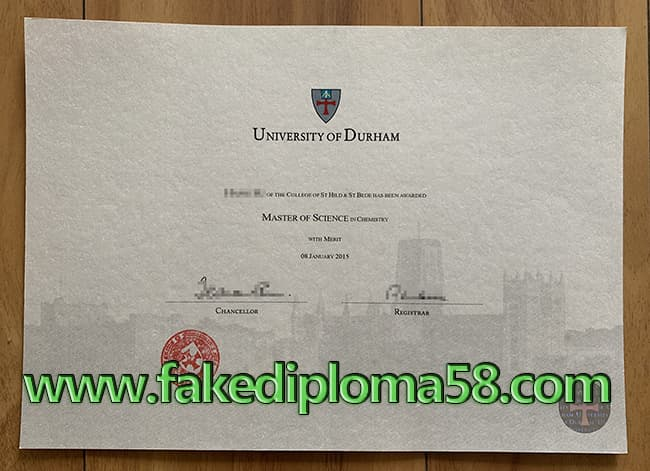 Durham University Fake diploma