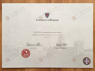 Durham University Degree, Durham Diploma Certificate