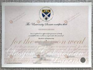 Glasgow Caledonian University Fake Diploma