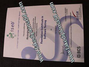 ISEB diploma certificate