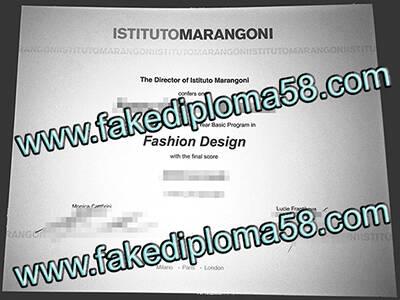ISTITUTO MARANGONI Fake Diploma, Buy Fake Degree