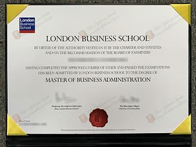 LBS Degree Certificate, Buy London Business School Diplomas