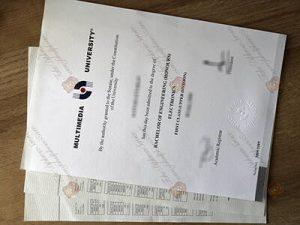 Multimedia University fake diploma