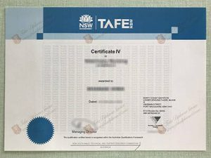 New South Wales TAFE Certificate