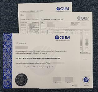 Buy Fake OUM Diploma & Transcript