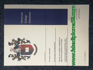 Obtain University College Chichester Diploma certificate
