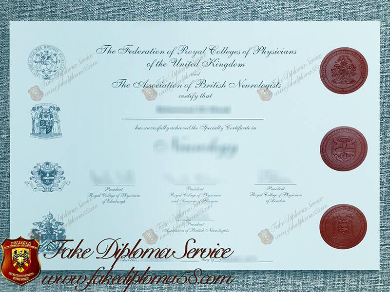 Royal College of Physicians fake diploma