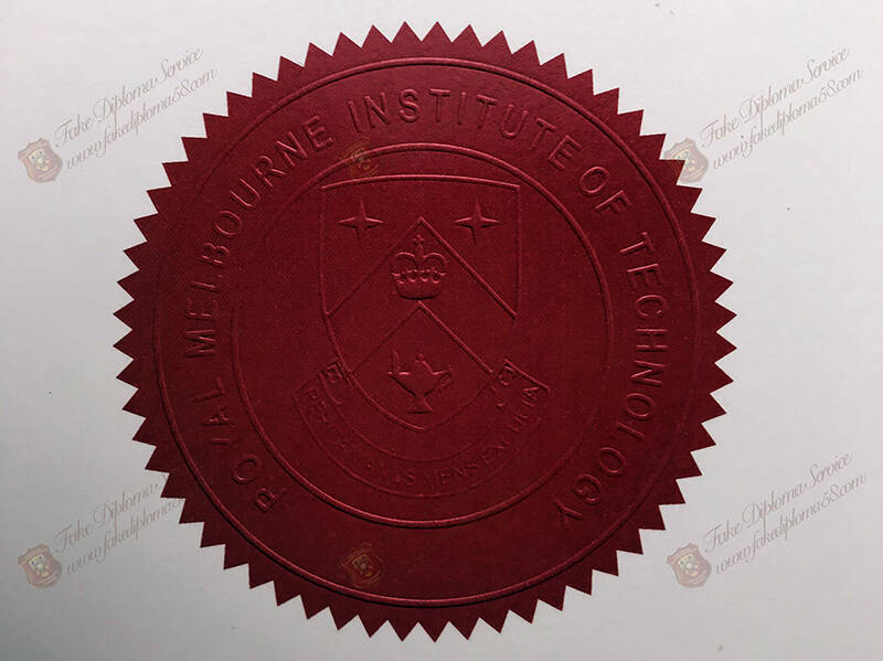 Seal of Poyal Melbourne Institute of Technoiogy