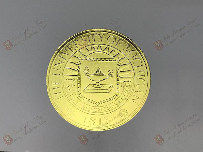 Seal of The University of Michigan