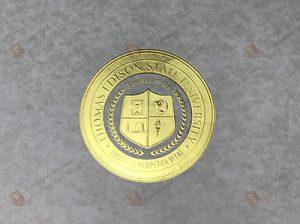 Thomas Edison StaIe University seal