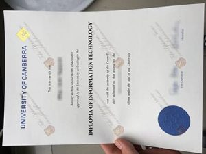 University of Canberra fake diploma
