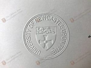 University of Newcastle Upon Tyne stamp