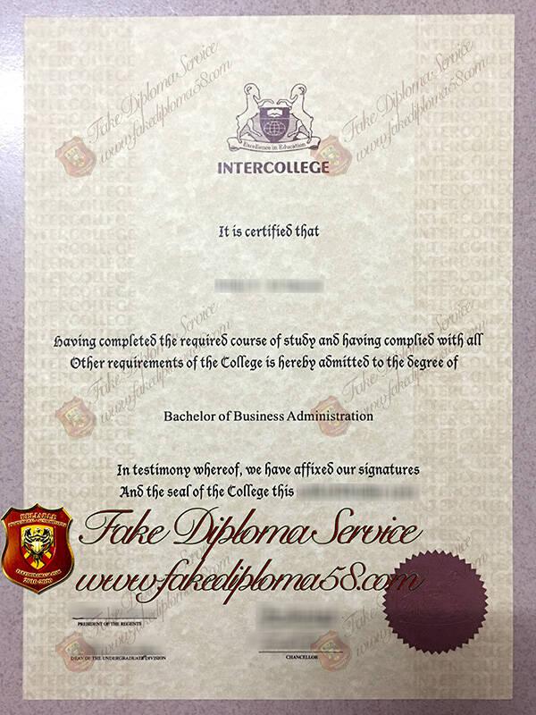 fake Cyprus International University diploma