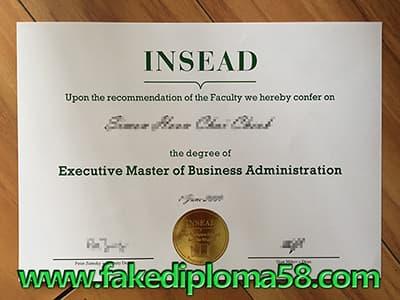 Apply INSEAD Diploma, Fake Diploma, Fake Certificate
