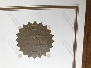fake degree seal