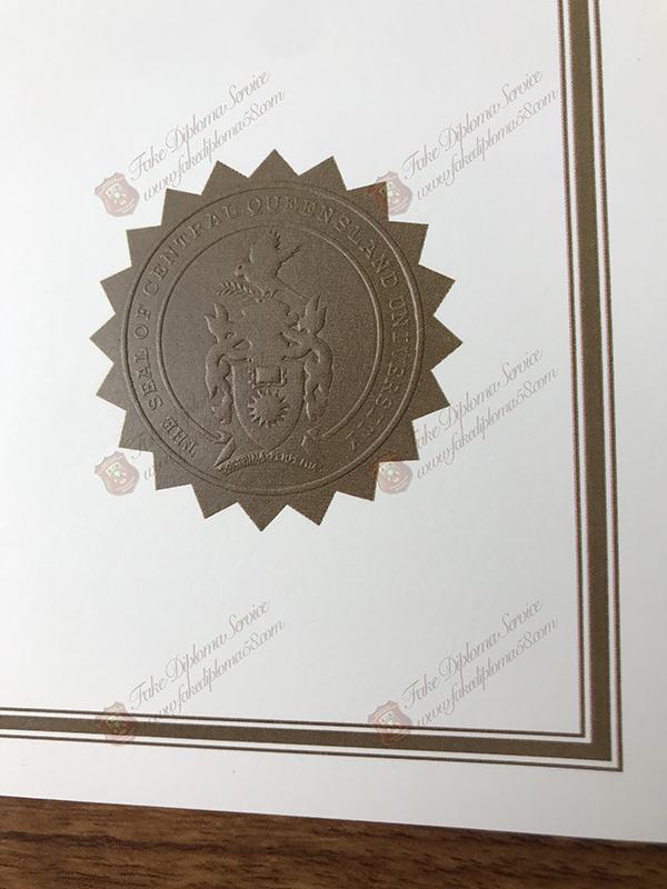 fake diploma seal
