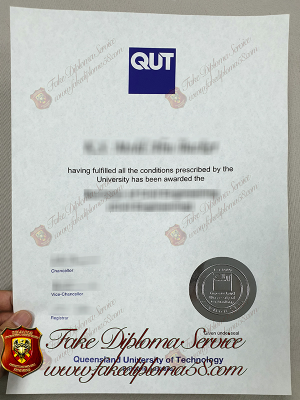 Fake Queensland University of Technology diploma