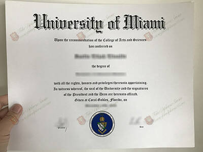 University of Miami Fake Diploma, Buy UMiami Fake Degree Certificate