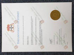 The University of Sydney fake diploma