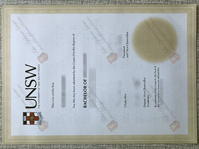 Buy Fake University of New South Wales Diploma, Copy UNSW Degree Certificate
