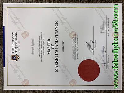 University of Queensland Fake Diploma, Buy Fake UQ Degree Certificate