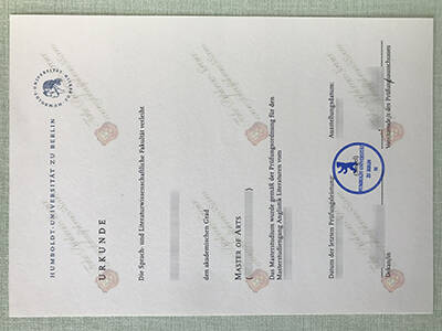 Humboldt University of Berlin Fake Diploma, Fake Humboldt–Universitat zu Berlin Diploma