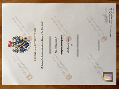 Buy Birmingham City University Diploma, Same as the original