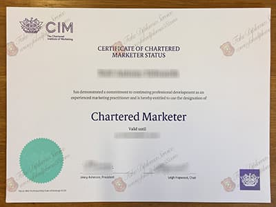 Buy CIM Certificate, The Chartered Institute of Marketing Certificate
