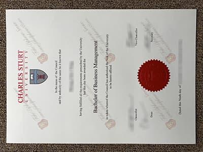 Buy Charles Sturt University Diploma, Charles Sturt University Degree