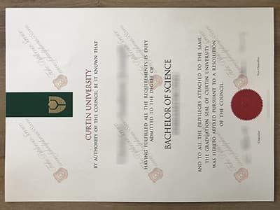 Curtin University Fake Diploma, Copy Curtin University Degree Certificate