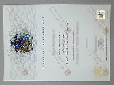 How to Buy a Fake University of Sunderland Diploma Online?