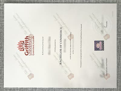 Get the Griffith University Diploma, Copy Griffith University Degree