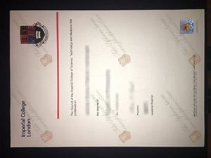 Imperial College London fake diploma