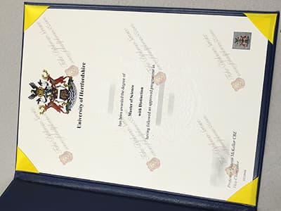 Get University of Hertfordshire Degree Certificate Online