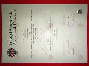 fake Aberystwyth University degree