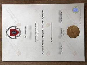 Australian Catholic University diploma, ACU diploma