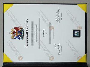 Bournemouth University diploma