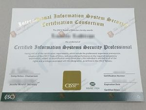 CISSP Certificate